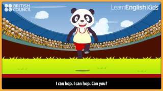 getlinkyoutube.com-I can run - Nursery Rhymes & Kids Songs - LearnEnglish Kids British Council