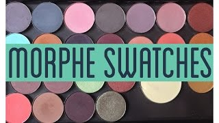 Morphe Single Eyeshadow Swatches | MadeupWonderland
