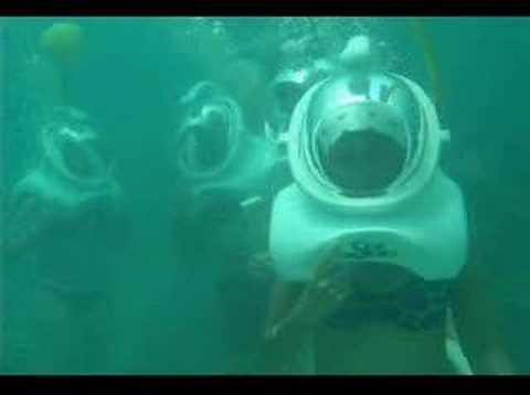 Buceo con casco