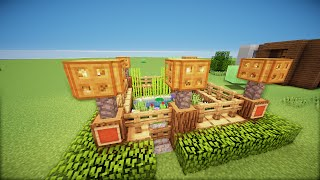getlinkyoutube.com-✔ Minecraft: Small Garden [HD]