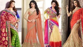 getlinkyoutube.com-5 Gorgeous Ways to Wear Saree for Party like a Bollywood Celebrity Saree Draping Styles To Look Slim