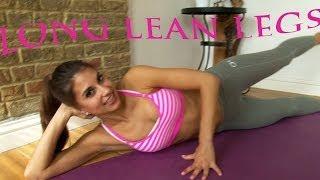 getlinkyoutube.com-Pilates for Lean Sexy Legs