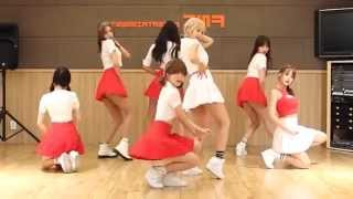 getlinkyoutube.com-AOA - Heart Attack - mirrored dance practice video - Ace Of Angels - 에이오에이 심쿵해 안무영상