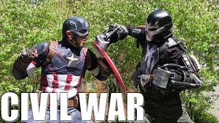 Captain America: Civil War - Cosplay Trailer
