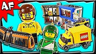getlinkyoutube.com-Lego CITY SQUARE 60097 Stop Motion Build Review
