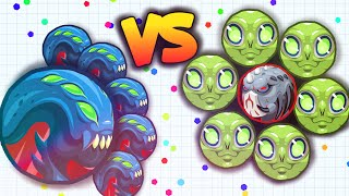 getlinkyoutube.com-TRICKSPLIT vs. BAIT = ??? (Agar.io Gameplay)