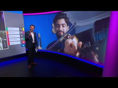 "BBC عربية:سلي حظرك""..عازف البلكونة في مصر يعزف لجيرانه وقت الحظر"