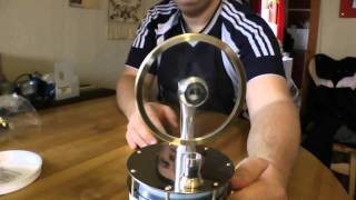 getlinkyoutube.com-Unboxing of Low Temperature Stirling Engine