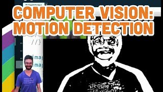11.6: Computer Vision: Motion Detection - Processing Tutorial