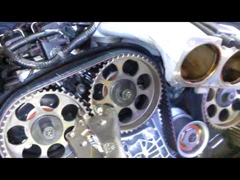 A.R.T. TIMING BELT INSTALL 3.0 3.2 V6 Cadillac CTS Catera Saab 9-5 Saturn Vue L300 part 3
