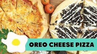 Resep Oreo & Cheese Pizza