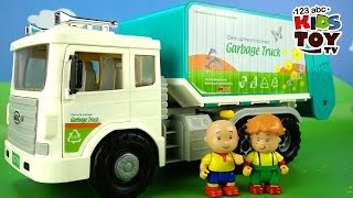 getlinkyoutube.com-Toy GARBAGE TRUCK. Toys for boys. The amusing animated film for kids about toys