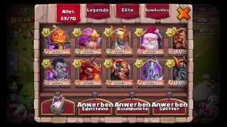 Castle Clash / Royal Clash - INSANE Dungeon 3-6 (Victory + Taktik)