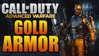 "getlinkyoutube.com-Advanced Warfare ""GOLD ARMOR"" - Elite Gear Showcase (Call of Duty AW Multiplayer Customization)"