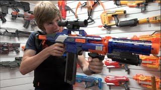 getlinkyoutube.com-Nerf Combos #7 + Update!