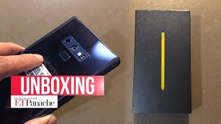 Samsung Galaxy Note 9: Unboxing And First Impression | India Unit | Ocean Blue | ETPanache