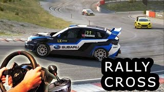 getlinkyoutube.com-DiRT Rally Rallycross - Very Hard difficulty, first place. Norway, Hell. Subaru WRX STI 2015