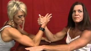 getlinkyoutube.com-Penny vs Candee Armwrestling