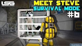 getlinkyoutube.com-Space Engineers - MEET STEVE !!!!! SE5 - EP6