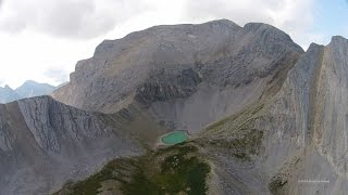 Bootski Lake - Tumbler Ridge, BC - DJI Phantom 2 Vision Plus