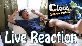 getlinkyoutube.com-Cloud Strife in Super Smash Brothers Reveal Trailer | Live REACTION