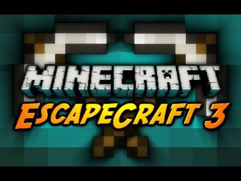 Minecraft Maps - EscapeCraft 3 w/ CavemanFilms - Pt. 2