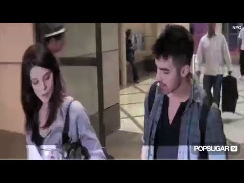 Ashley Greene and Joe Jonas Together at LAX