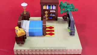 getlinkyoutube.com-How to Build LEGO Furniture for Your Minifigures