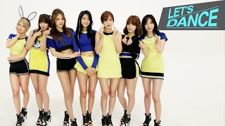 getlinkyoutube.com-Let's Dance: AOA(에이오에이) _ Heart Attack(심쿵해) [ENG/JPN/CHN SUB]