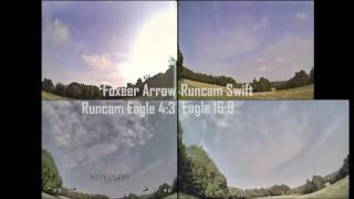 getlinkyoutube.com-Foxeer Arrow HS1190 VS Runcam Swift and Eagle (16:9 & 4:3)