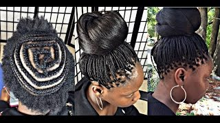 getlinkyoutube.com-#182. CROCHET MICRO BRAID with kanekalon hair