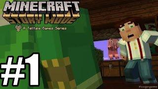 getlinkyoutube.com-Minecraft Story Mode Episode 1 - Gameplay Walkthrough Part 1 [ HD ] No Commentary