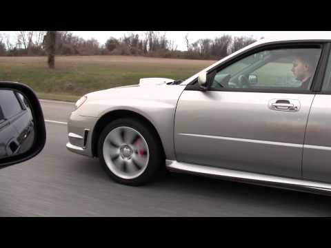 STI vs WRX Roll Racing 1080p HD