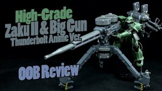 getlinkyoutube.com-613 - HGTB Zaku II and Big Gun [Gundam Thunderbolt Anime Ver.] (OOB Review)