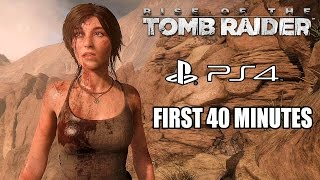 getlinkyoutube.com-Rise of the Tomb Raider (PS4) - First 40 Minutes Gameplay @ 1440p HD ✔