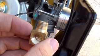 getlinkyoutube.com-Converting a Champion 41532 Generator to Run on Propane, Natural Gas or Gasoline