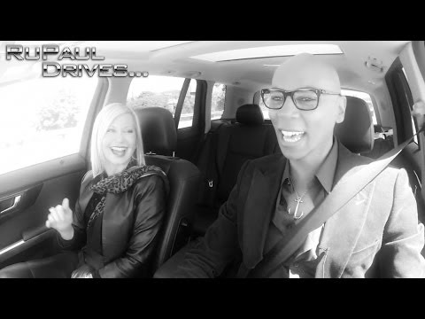 RuPaul Drives... Olivia Newton-John