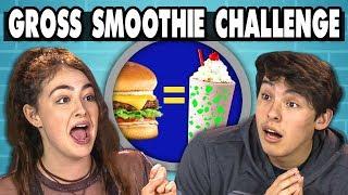 TRY NOT TO EAT CHALLENGE! #2 | Teens & College Kids Vs. Food width=