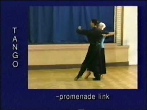 Tango dance steps 19. Promenade link