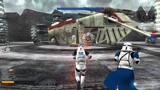 getlinkyoutube.com-Star Wars Battlefront 2  Gameplay 1 Mygeeto - Amongst The Ruins