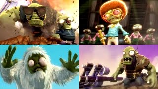 getlinkyoutube.com-Plants vs. Zombies: Garden Warfare - Full Movie / All Cinematic Cutscenes (2014)