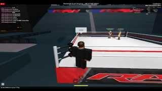 getlinkyoutube.com-WWE Roblox John Cena Vs Randy Orton