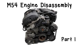 getlinkyoutube.com-Part 1: BMW M54 Engine Disassembly- Get To Know Your Engine