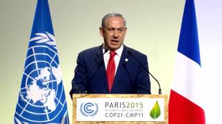 getlinkyoutube.com-PM Netanyahu's Speech at the UN Climate Change Conference
