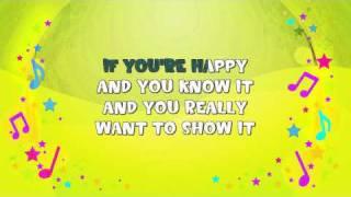 getlinkyoutube.com-If You're Happy And You Know It Karaoke