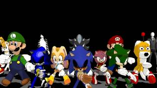 getlinkyoutube.com-Halloween -MMD-Thriller /Sonic exe ,TD,Slenderman ,Jeff the killer y màs