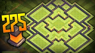 """getlinkyoutube.com-Clash Of Clans - """"NEW"""" BEST TOWN HALL 10 (TH10) TROPHY BASE BASE w/275 Walls New Update 2015!"""