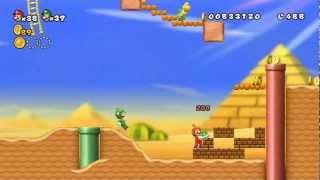 getlinkyoutube.com-New Super Mario Bros Wii - 100% Walkthrough Co-op ITA - Parte 04 di 19