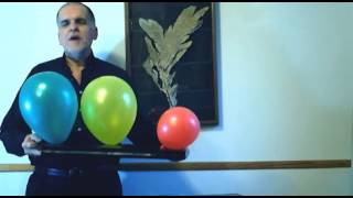 Comedy Card In Balloon by Quique Marduk - magicwarehouse.com