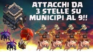 getlinkyoutube.com-TUTTE LE STRATEGIE PER TRISTELLARE TH9 - Clash of clans Ita